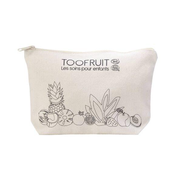 PLV16 Trousse en coton bio-toofruit