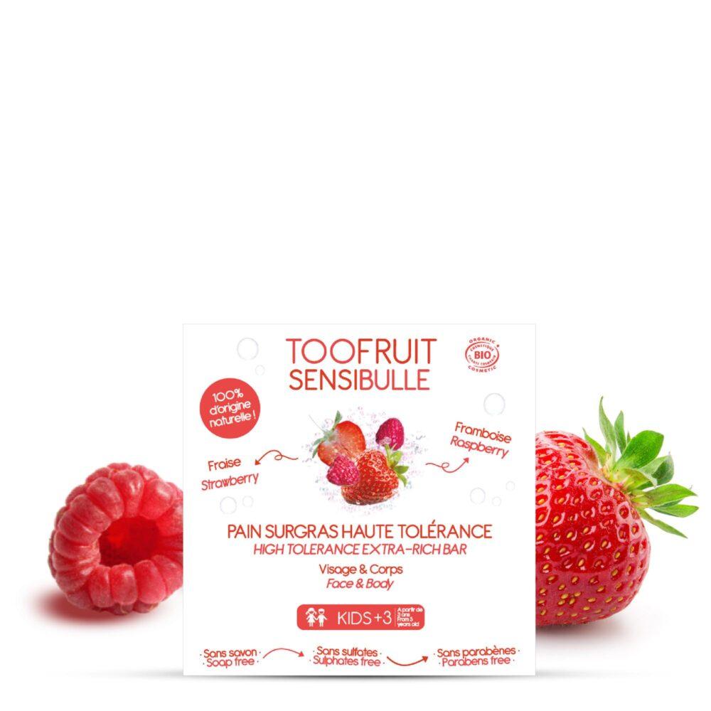pain surgras bio enfants framboise fraise-toofruit