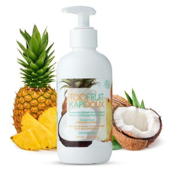 shampooing bio enfants ananas coco-toofruit