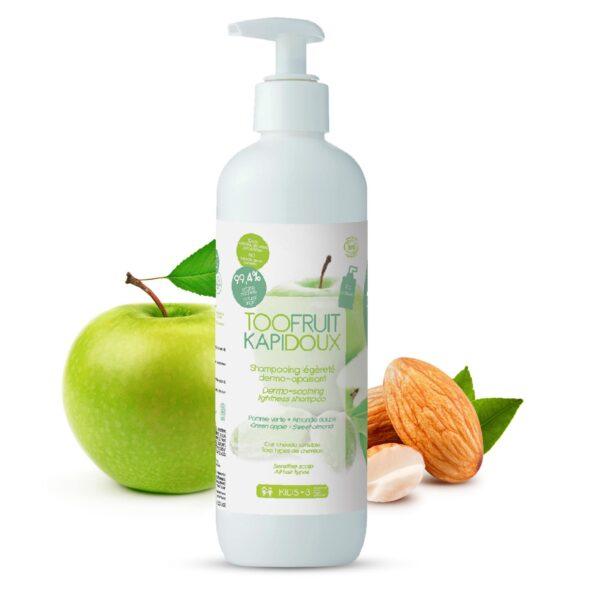 shampooing bio enfants pomme amande 2-toofruit