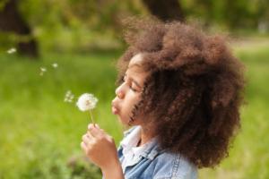 Produits bio pour les cheveux des enfants