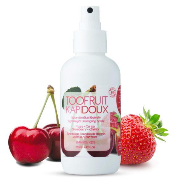 spray demelant bio enfants fraise cerise-toofruit