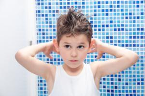 Styling cheveux bio pour enfants